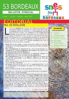 Bulletin académique n° 209
