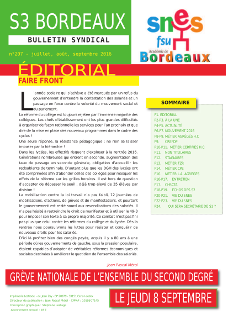 Bulletin académique n° 207